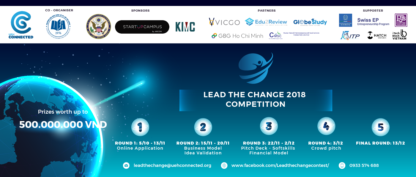 LEAD THE CHANGE 2018